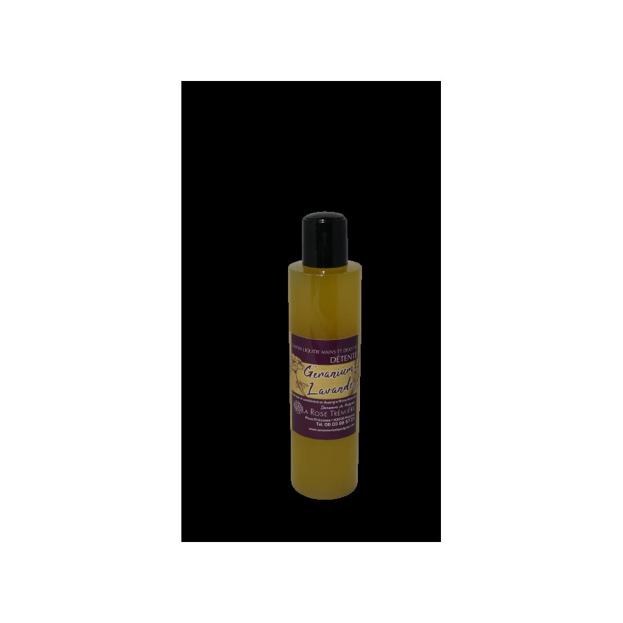 Savon liquide Géranium