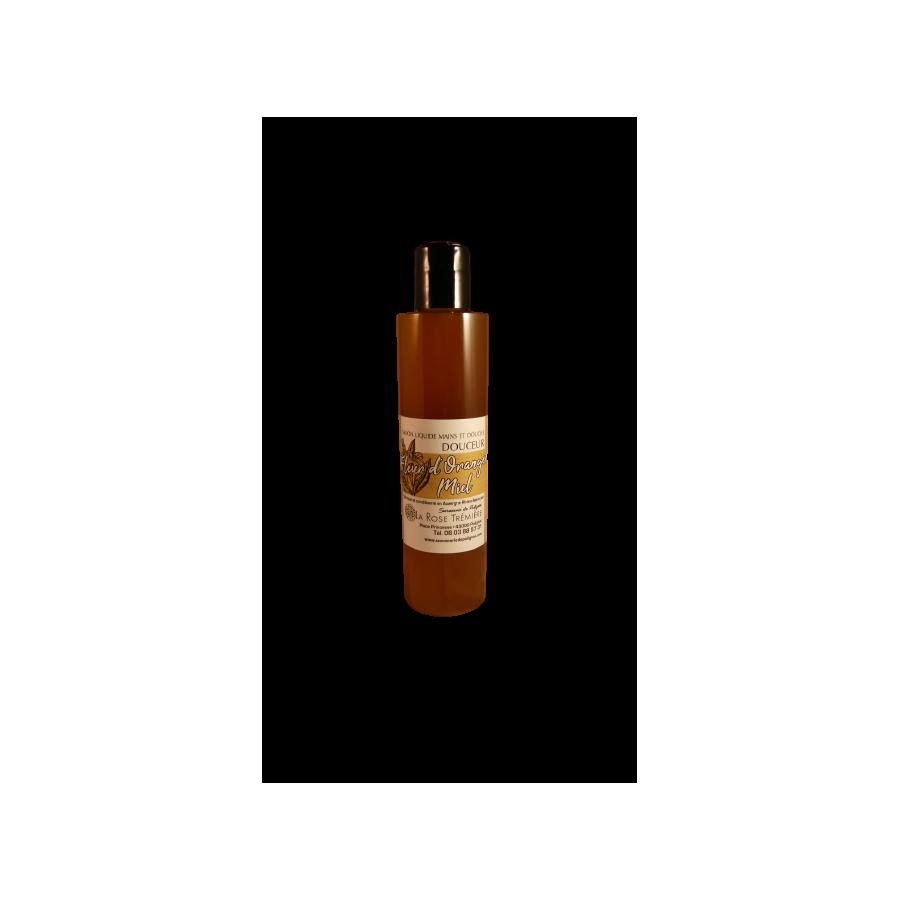 Savon liquide Fleur d'Oranger Miel